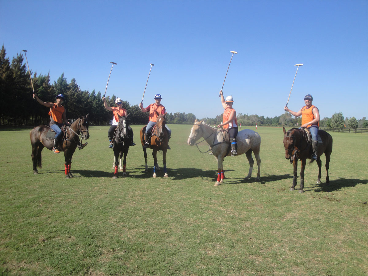 argentina polo day chukker starting